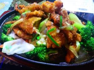 Soft Shell Crab in Garlic Sauce